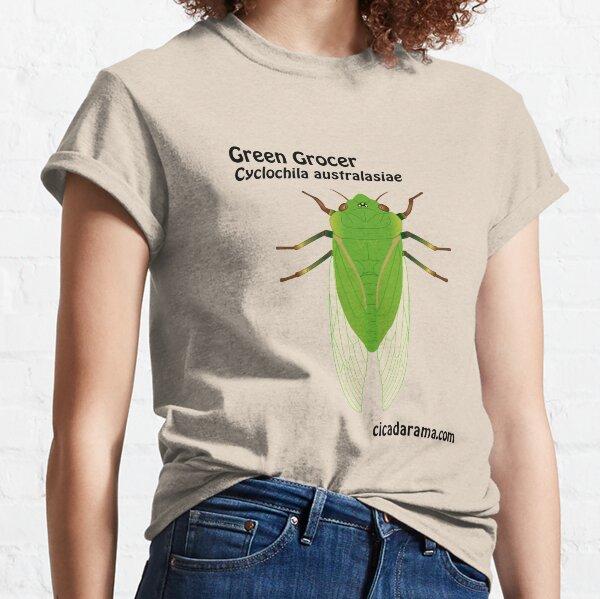 Green Grocer cicada (Cyclochila australasiae) Classic T-Shirt