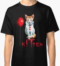 Cats Clown Kitten IT Halloween, Cat halloween Balloon Classic T-Shirt