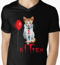 Cats Clown Kitten IT Halloween, Cat halloween Balloon T-Shirt