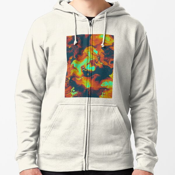 DAY LIGHT AND BAD DREAMS, IN A COOL WORLD FULL OF CRUEL THINGS Zipped Hoodie