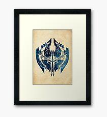 League of Legends NOXUS CREST Framed Print