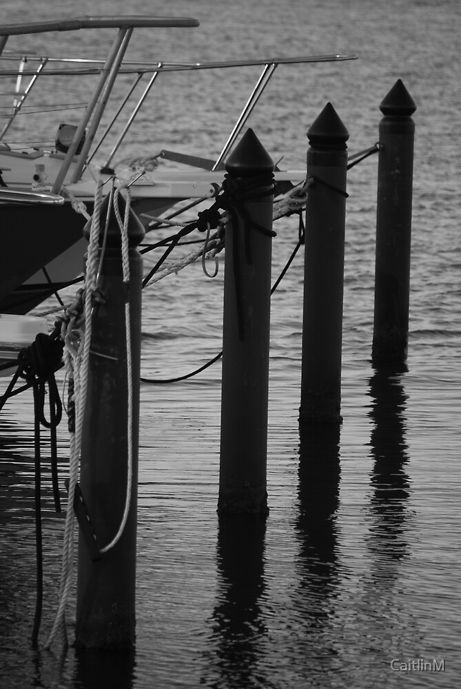 Parked boats by CaitlinM