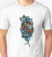 Neotraditional shark and bottle T-Shirt