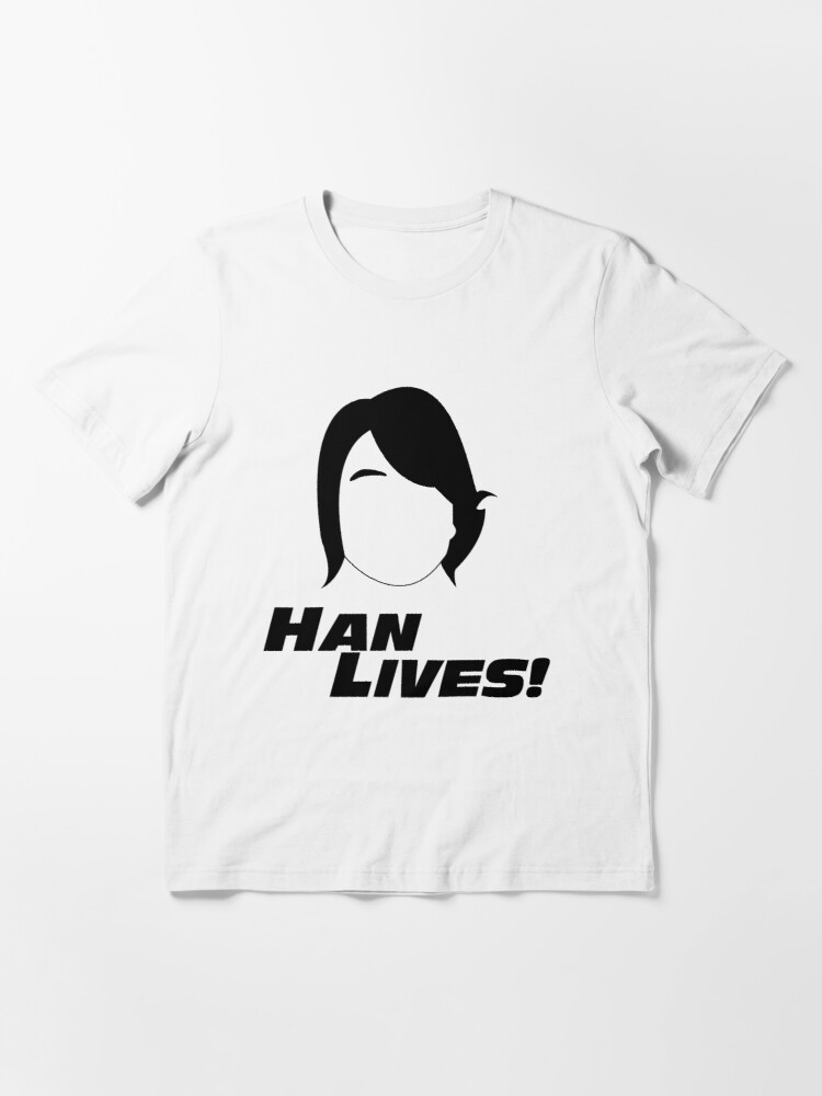 Alternate view of Han Lives! Essential T-Shirt