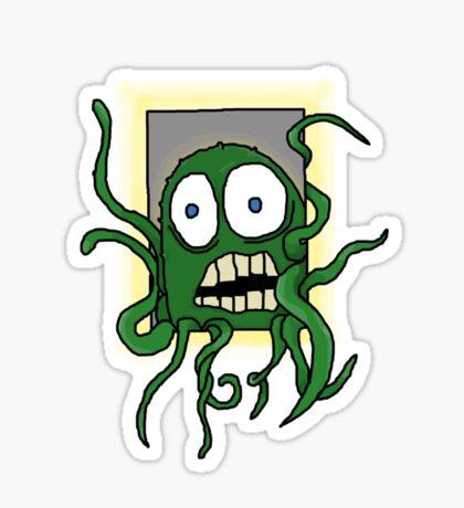 I've opened the worm-hole Sticker