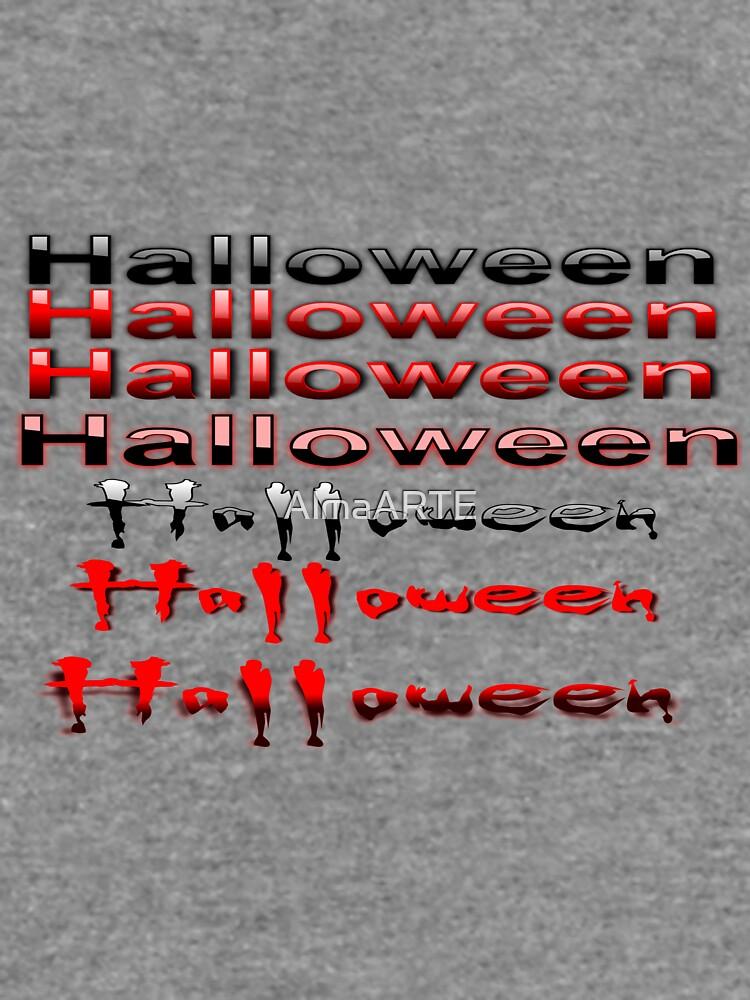 Halloween degradiert von AlmaARTE