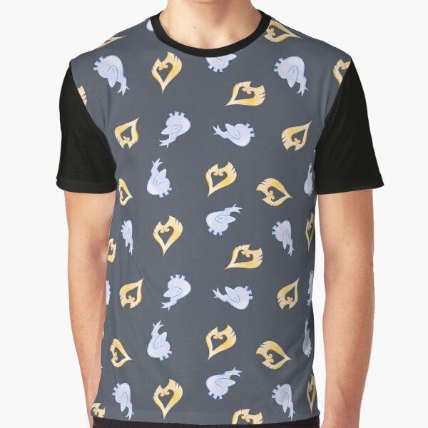 Gold and Silver Graphic T-Shirt