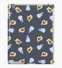 Gold and Silver iPad Case/Skin