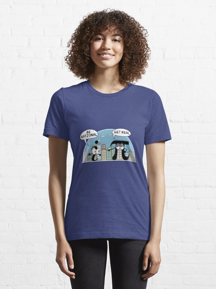 Alternate view of Maths: Be Rational Get Real Science Gift Essential T-Shirt
