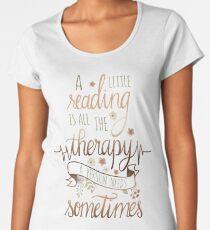A LITTLE READING Women's Premium T-Shirt