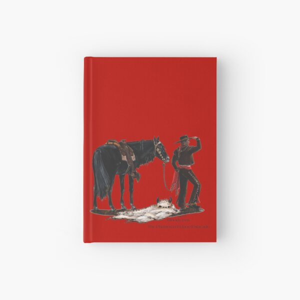 Bloody-Fox by tasmanianartist for Karl May Friends Hardcover Journal