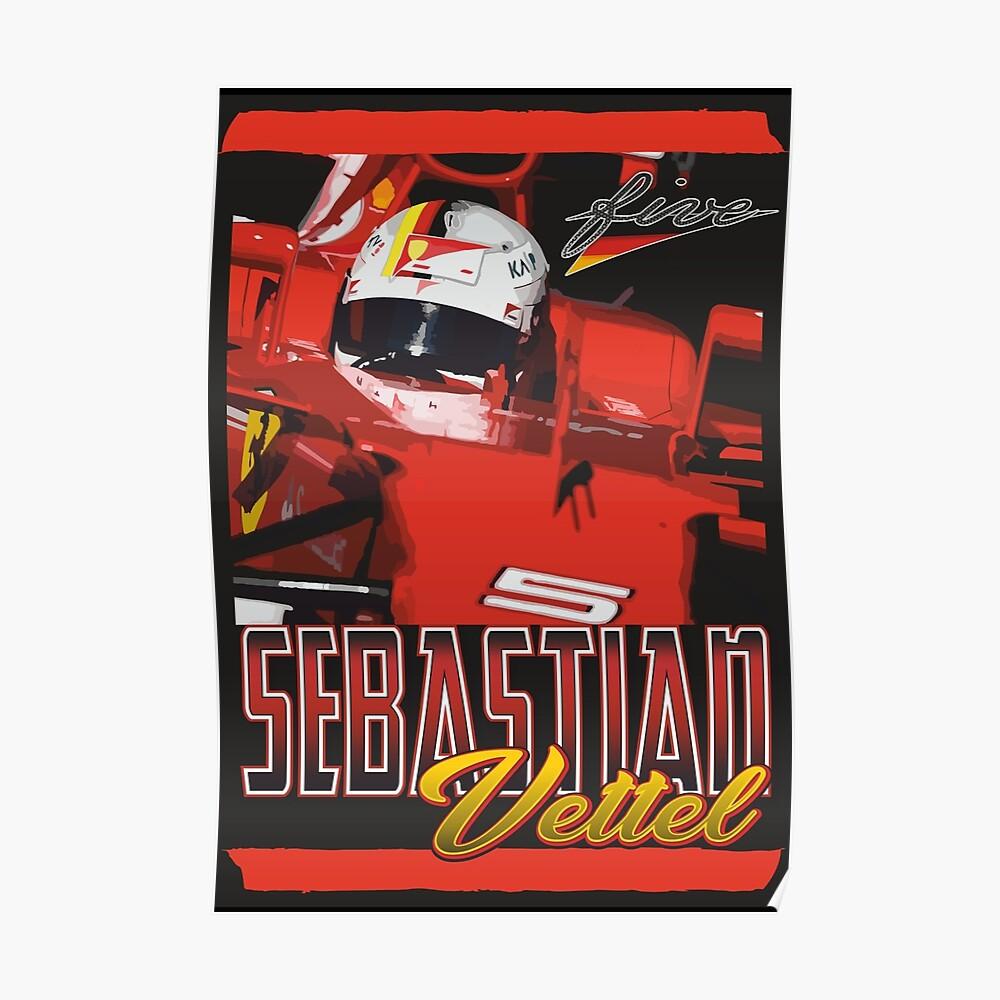 Sebastian Vettel | F1 Poster