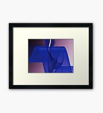 Blue Wave-Available As Art Prints-Mugs,Cases,Duvets,T Shirts,Stickers,etc Framed Print
