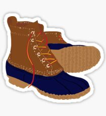 Duck Boots Sticker
