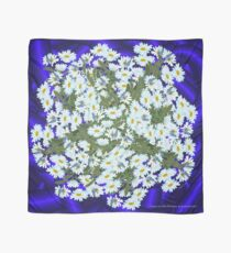 D1G1TAL-M00DZ ~ FLORAL ~ Daisies and Blue Butterflies by tasmanianartist Scarf