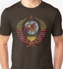USSR Vintage Coat of Arms V01 Unisex T-Shirt