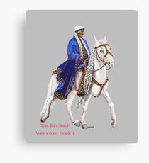 Winnetou-Book 4, Riders by tasmanianartist for Karl May Friends Canvas Print