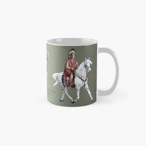 Winnetou-Book 4, Riders by tasmanianartist for Karl May Friends Classic Mug