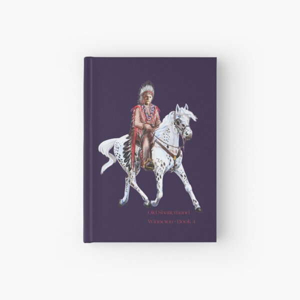 Winnetou-Book 4, Riders by tasmanianartist for Karl May Friends Hardcover Journal