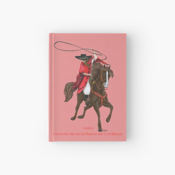 Carlos and Gaucho by tasmanianartist for Karl May Friends Hardcover Journal