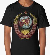 USSR Vintage Coat of Arms V01 Long T-Shirt