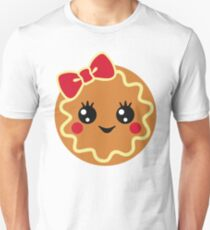 Gingerbread Girl ,Christmas Sweet Gingerbread,Gingerbread Silhouette T-Shirt