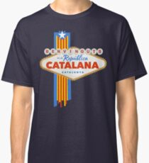 BENVINGUTS A LA REPÚBLICA CATALANA - SIGN - CATALUNYA Classic T-Shirt