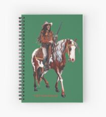 Old Surehand by tasmanianartist for Karl May Friends Spiral Notebook