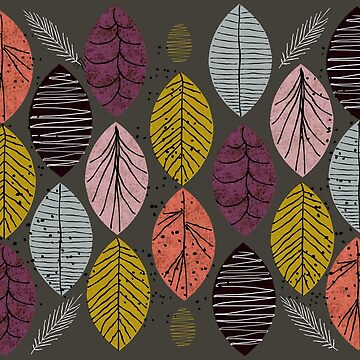 Nature Leaves by Seasons by elenor27