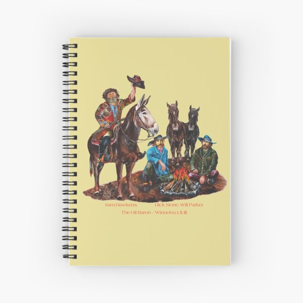 The Trefoil by tasmanianartist for Karl May Friends Spiral Notebook