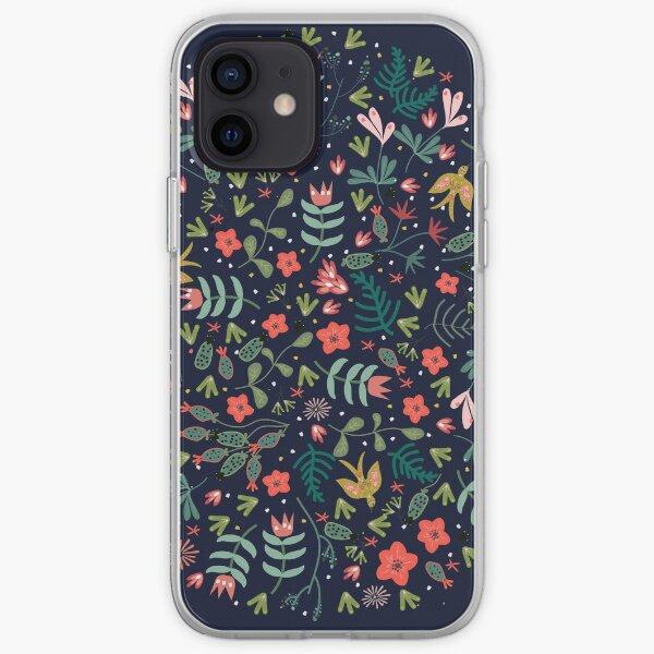 Flying Around in the Garden iPhone Soft Case