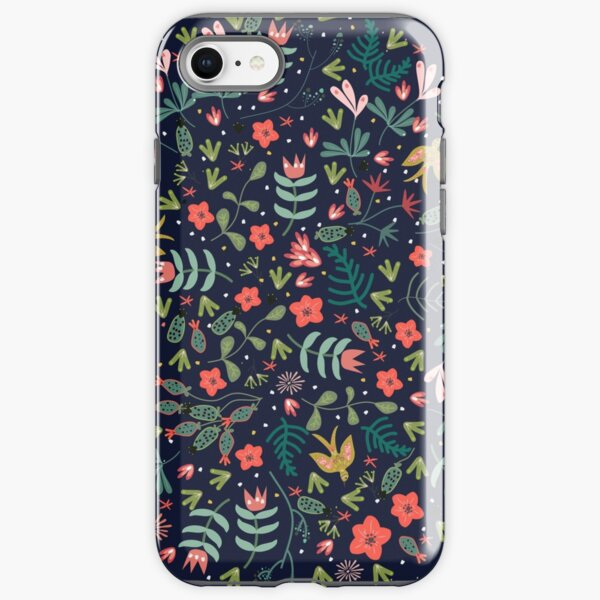 Flying Around in the Garden iPhone Tough Case