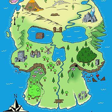 Skull Island Map by Rennis05