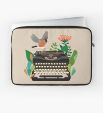 The bird and the typewriter Laptop Sleeve