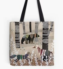 Forest In Sweater Tote Bag