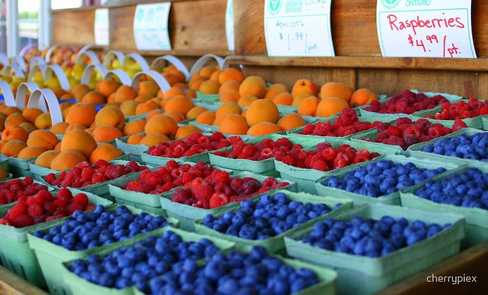 Fruit Stand by cherrypiex