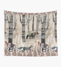Forest In Sweater Wall Tapestry