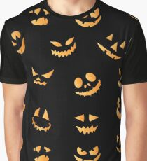 spooky faces Graphic T-Shirt