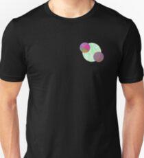 Aesthetic Geometric Circles Design T-Shirt
