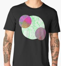 Aesthetic Geometric Circles Design Men's Premium T-Shirt