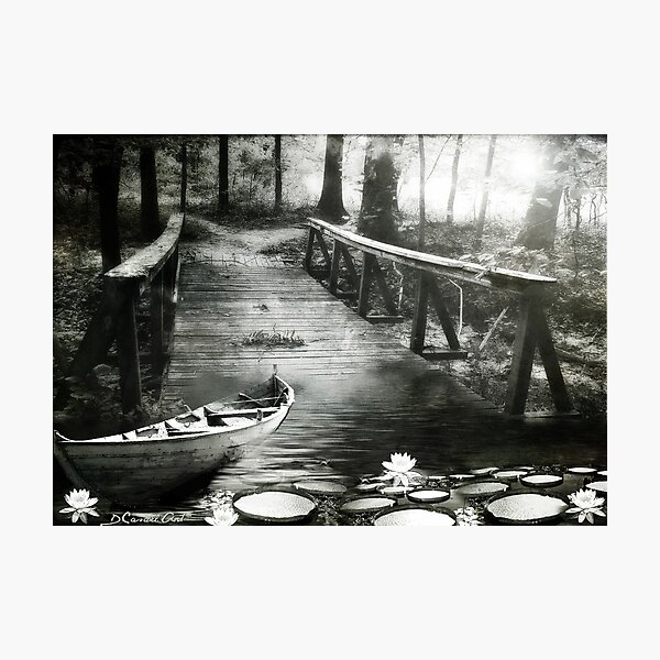 Remanso B&W Photographic Print