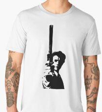 Clint Eastwood as Dirty Harry | Cult Movie Men's Premium T-Shirt