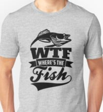 WTF Where's the Fish Unisex T-Shirt