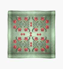 D1G1TAL-M00DZ ~ FOLKART ~ FLORAL ~ Red Tulip Symmetry by tasmanianartist Scarf