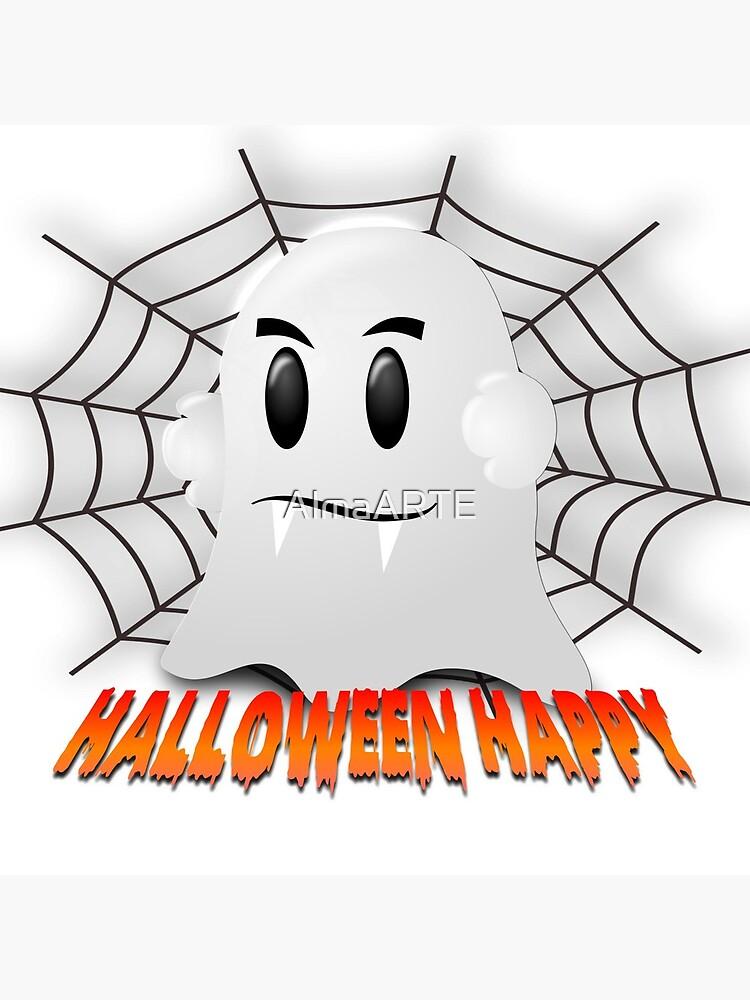 Happy Halloween-Geist von AlmaARTE