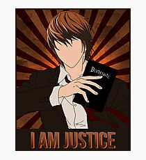 Light Justice Photographic Print
