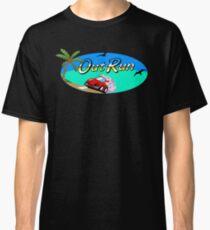 OUT RUN - SEGA ARCADE 80s LOGO Classic T-Shirt