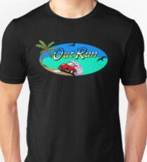 OUT RUN - SEGA ARCADE 80s LOGO T-Shirt