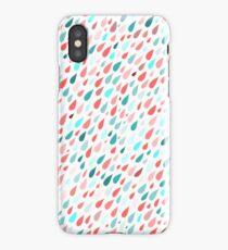 Rainy Day Pattern iPhone Case/Skin