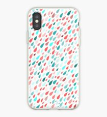 Rainy Day Pattern iPhone Case